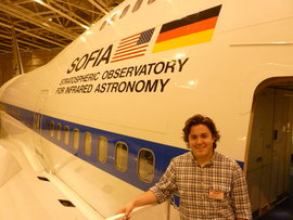 Casey Byrne (IC Physics '13) on SOFIA