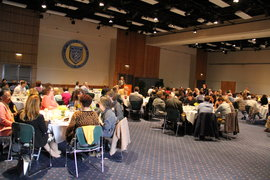 Center for Faculty Excellence Annual Awards Luncheon, May 17, 2016.