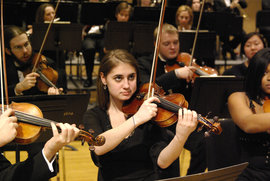 Chamber Orchestra violins