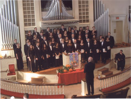 Choir on tour fall 2005