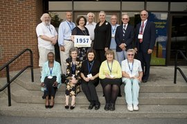 Class of '57 at 50th Reunion