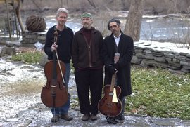 Cloud Chamber Orchestra: (left to right) Chris White, Peter Dodge, Robby Aceto