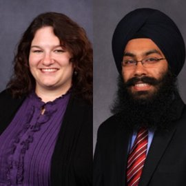 Co-Chairs Kimberly Wilkinson and Rumit Kakar Singh