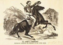 �Col. John C. Fremont,� Republican Party, 1856