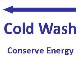 Cold Wash Sticker