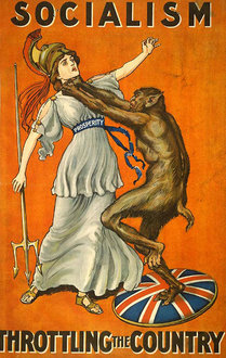 Conservative Party Poster, Great Britain, 1909