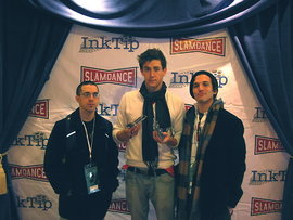 Corina, McHugh, and Pfeffer at Slamdance