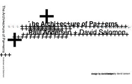 Cover of the Architecture of Patterns