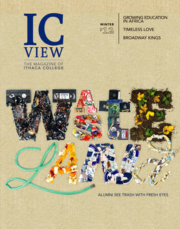 Cover of the winter 2012 issue of ICView