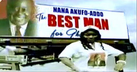 Daddy Lumba Music Video for Nana Akufo-Addo, 2008