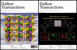 Dalton Transactions - cover image for issue 17, 2008