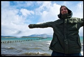 Daniel visits the Strait of Magellan in the Punta Arenas in the South of Chile.