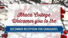 December Receptions for Grads image