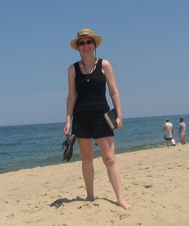 Dr. Delaney takes to the beach!