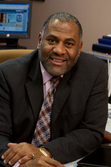 Dr. Roger Richardson is the Dean of First-Year Experience