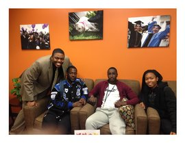ESP Program Alums, Taj Harvey, Mohamed Barry, Daouda Drame, & Ameilia Teape, Class of 2015!!
