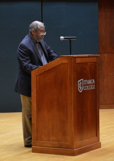 Edward P. Jones in Hockett Family Recital Hall, November 2015