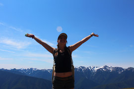 Enjoying Olympic National Park, August 2013
