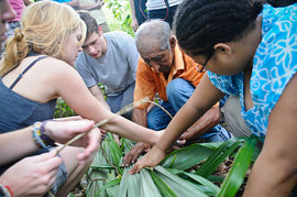 Environmental Science class Belize: Rainforests, Reefs and Ruin's trip to Belize in January 2011.