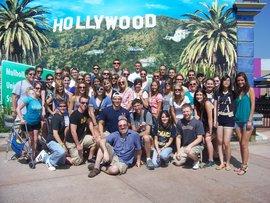 Fall 2011 ICLA class at Universal Studios Hollywood