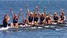 Fast finishes for women's crew