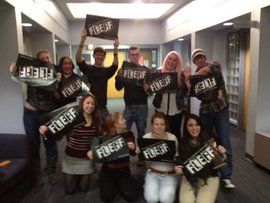First FLEFF Flashmob