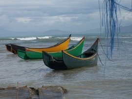 Fishing Boats on West Coast