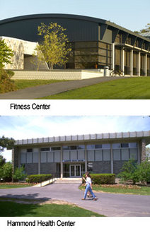 Fitness Center and Hammond Health Center