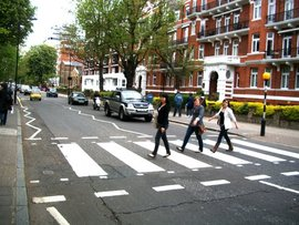 Flat 9 on Abbey Road