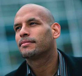 Former NBA player John Amaechi, one of two keynote speakers at IC's Sport, Sexuality, and Culture Conference