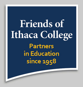 Friends of Ithaca College logo