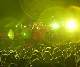 Government Mule plays at the State Theatre in Ithaca. Photo by Jeff Goodwin '10