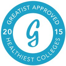 Greatist.com included Ithaca College on its list of nation's top 25 healthiest colleges.