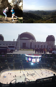 Griffith Park and Staples Center