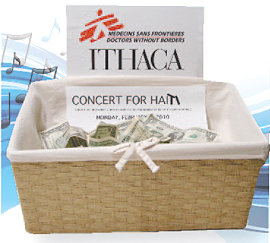 Haiti donations basket