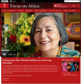 Head shot of myself on the BBC website