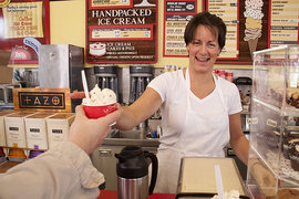 Heather Lane owns Purity Ice Cream and teaches an Entrepreneurial Spirit mini course at IC.
