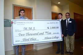 High School Investment Competition winners