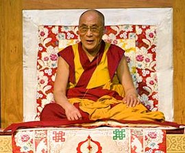 His Holiness the Dalai Lama at Ithaca College