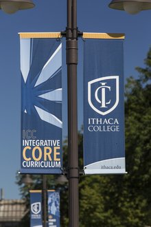 ICC Banner in the Quad
