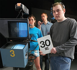 """ICTV's """"This Week Tonight"""" is an all-student production."""