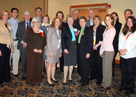IC Alums at 2009 NYPTA Delegate Assembly
