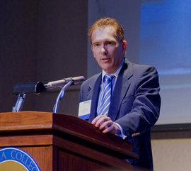 IC President Thomas R. Rochon