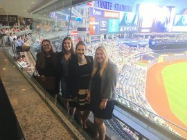 IC Sport Management partner with the New York Yankees for an evening of networking and baseball.