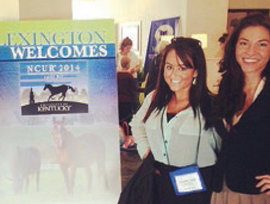 IC Students at the 2014 NCUR Conference