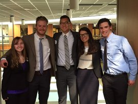 IC Students who participated in the 2015 Phi Alpha Theta Conference