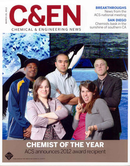 IC students on a C&E News cover
