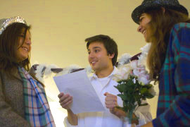 IC students protest Prop 8 with their own marriage ceremony