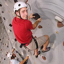 IC's climbing wall