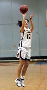 I played basketball and Volleyball for the Ithaca College Womens teams
